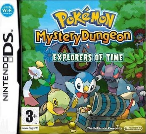 Pokemon Mystery Dungeon Explorers Of Time - DS