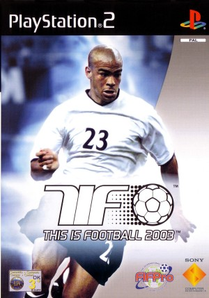 This Is Football 2003 DUTCH GERMAN ITALIAN FRENCH PAL COVER