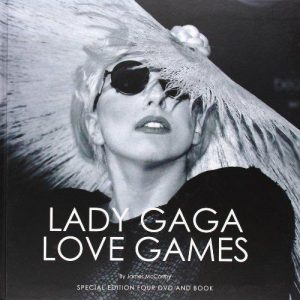 Lady Gaga Love Games Special Edition Four DVD and Book