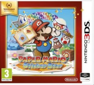 Paper Mario Sticker Star Selects 3DS