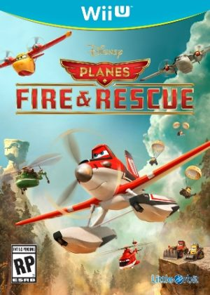 Disney Planes Fire and Rescue Wii U