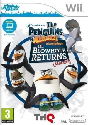 Penguins of Madagascar Dr. Blowhole Returns - Again Wii
