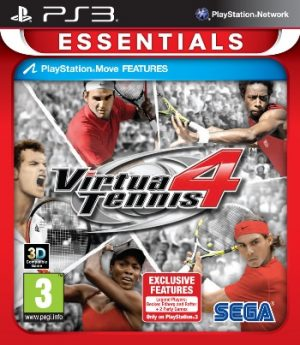 Virtua Tennis 4 (Essentials) PS3